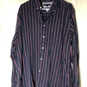 Tommy Hilfiger button down long sleeve vintage XL